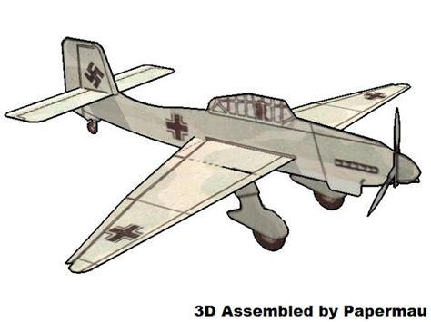 Ww2 Papercraft - papermau ww2 s german aircraft junkers ju 87 quot stuka