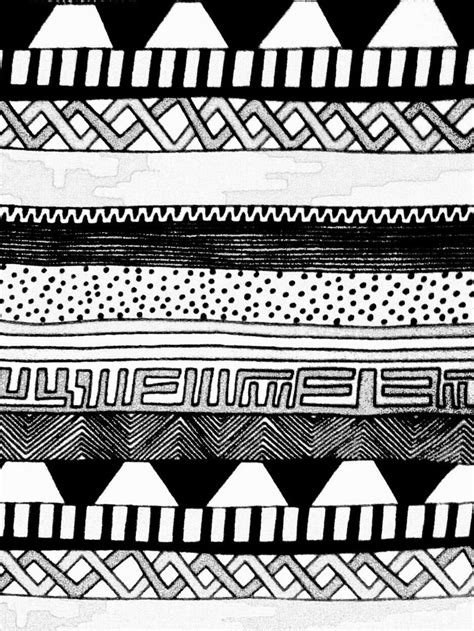 aztec pattern drawing aztec pattern by nubiramaist on deviantart