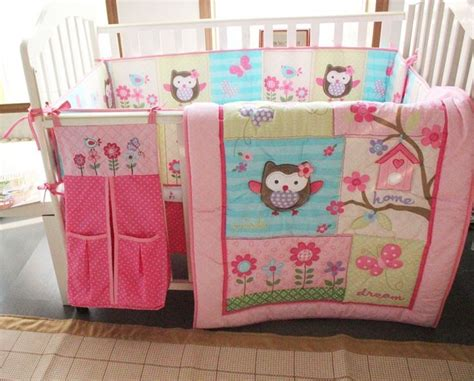 Owl Themed Crib Bedding Sets Owl Crib Bedding Baby Bedding Crib Cot Sets 8 Owl Theme Bedding My