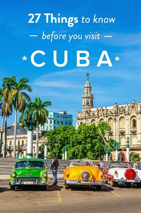 when to travel to cuba 27 cuba travel tips things to know before you visit