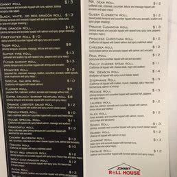 johnny roll house photos for johnny roll house menu yelp