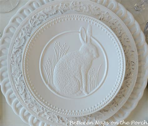 Pottery Barn Easter Dishes happy easter on easter table easter wreaths and easter food