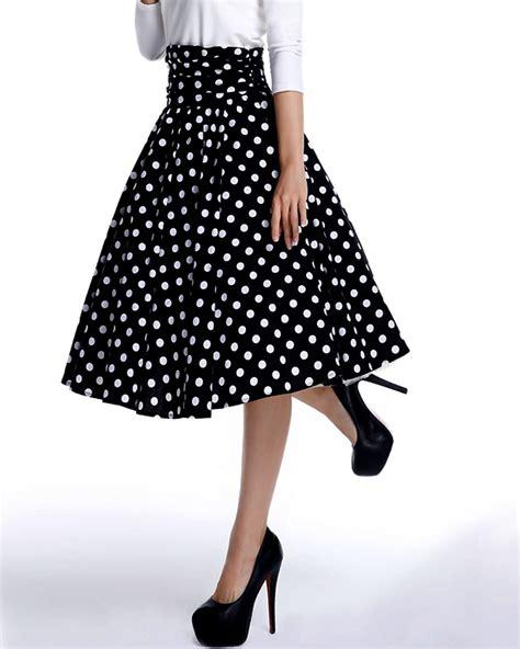 swing dance skirt rk108 1950s polka dots circle swing dance skirt rockabilly