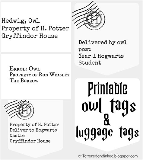 Harry Potter Owl Printable