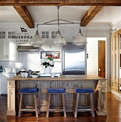 coastal living kitchen designs coastal muskoka living interior design ideas home bunch