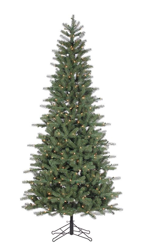 staylit christmas trees grand spruce 9ft artificial tree staylit 174 clear lights