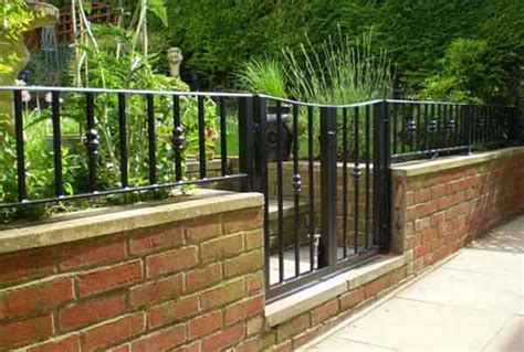 Garden Wall Railings Railings Archives Spirals Castings