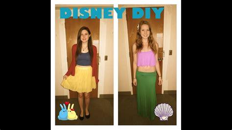 diy disney princess halloween costumedisneybound youtube