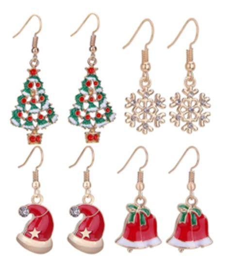 christmas earrings adults earrings for the holidays christmastimetreasures