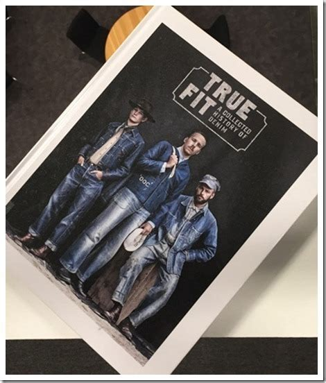 true fit a collected history of denim books denim books worldwide denim trends news