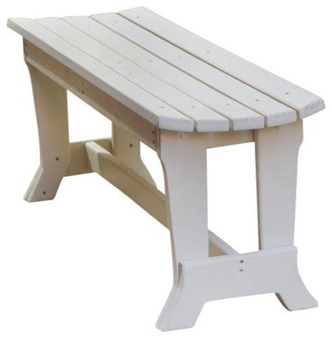 garden bench no back carolina preserves 2 seat bench no back natural