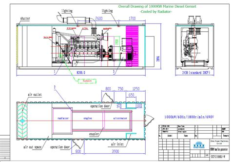 wiring diagram standard genset deutz international