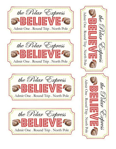 printable believe tags the polar express is my absolute favorite movie nothing