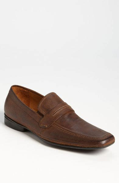 aldo loafers aldo greaves loafer in brown for cognac bronze lyst