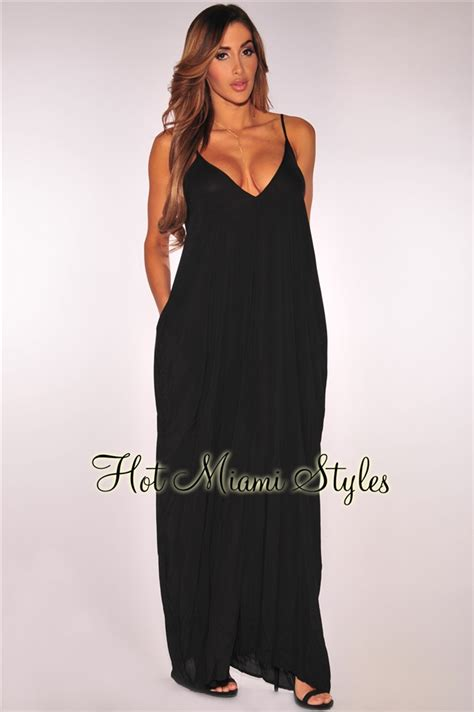 Fit Maxi Dress black fit maxi dress