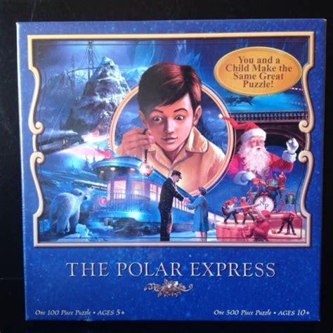 jigsaw film equipment the polar express christmas jigsaw puzzle set 100 and 500