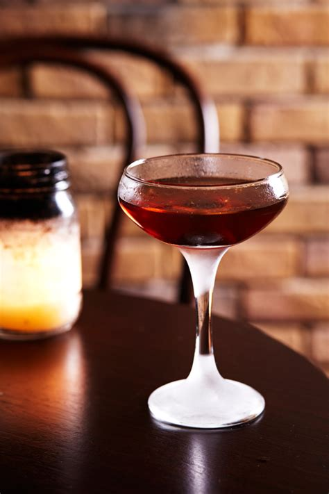 Knob Creek Manhattan by Why The Manhattan Beats The Fashioned