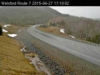 route 7 highway webcam welsford, nb web cameras on