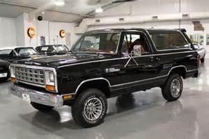 Dodge Prospector 4x4 1985 Dodge Ramcharger 150 Royal Se Prospector 4x4 Sport