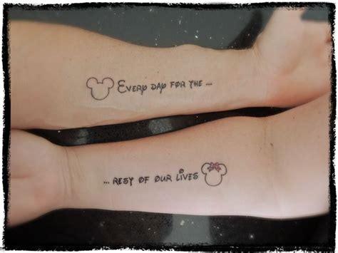 disney couple tattoos disney themed tattoos disney ideas