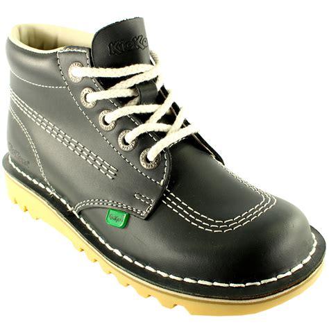Sepatu Docmar 3 Unisex Size 2 unisex infants kickers kick hi back to school leather boots shoes all sizes ebay
