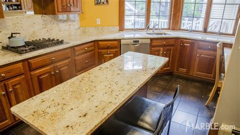 Colonial Countertop by Colonial Gold Granite Kitchen Countertops