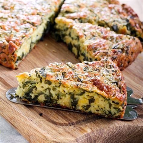 recette quiche sans p 226 te aux 233 pinards ultra simple facile