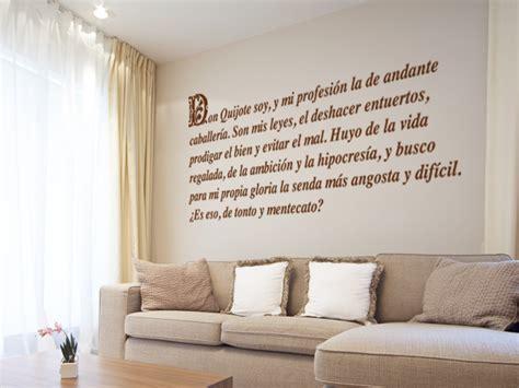 vinilo decorativo don quijote  sancho panza