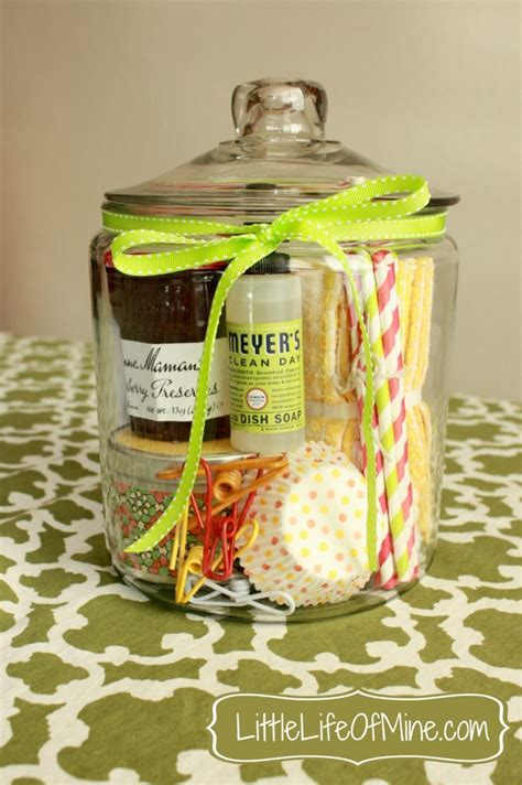 good housewarming gifts 15 mason jar gift ideas classy clutter