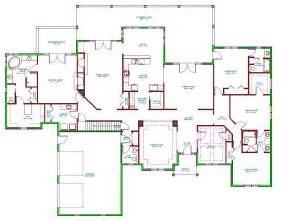 Single House Floor Plans Mediterranean House Plan Single Level Mediterranean Ranch