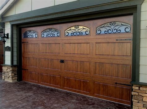 Faux Wood Garage Doors Prices by Faux Wood Garage Doors Cost Design Ideas Image Mag