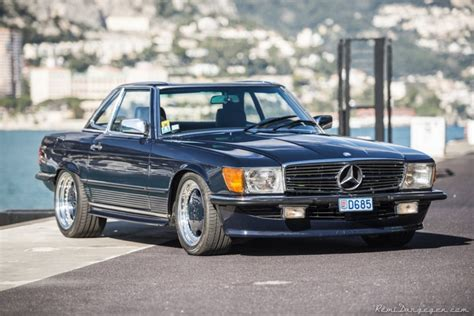 mercedes modified modified mercedes sl roadster of michael schumacher