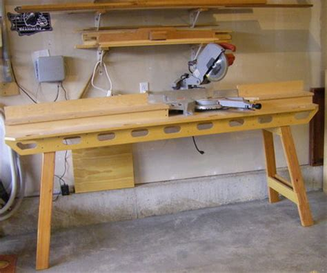build portable miter saw stand, wood nailer size, saw