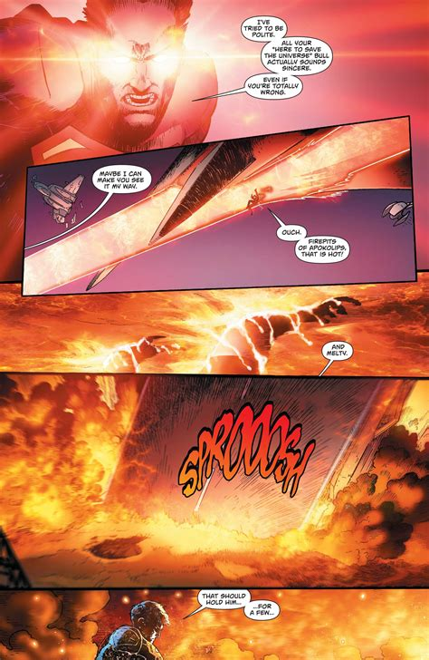 heat vision dc can post crisis superman destroy the world with his