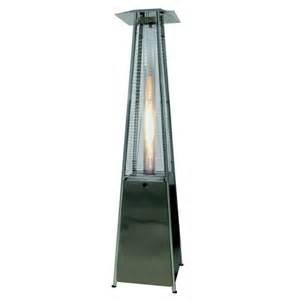 palm springs pyramid quartz glass patio heater