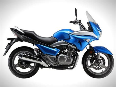 Suzuki 350cc Suzuki Unveils Semi Faired Inazuma Bike News Bikes