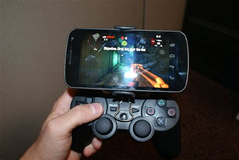 android gaming play your android in style check out this ps3 controller samsung galaxy nexus