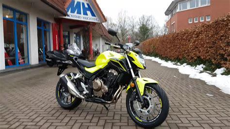 Honda Motorrad 2017 Modelle by Honda Cb 500 F 2017 Be I Motorrad Huchting Walk Around