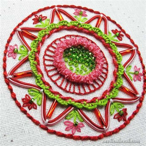 embroidery ornaments embroidered ornament from stash part 2