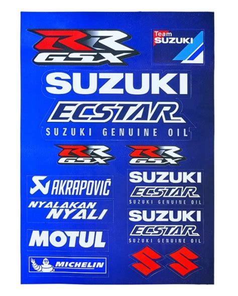 Sticker Suzuki Motogp by Autocollants Suzuki Motogp Kit Stickers Suzuki Ecstar Motogp