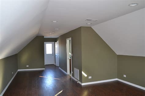 Cost Of Building A Garage Apartment by Finished Attic Renovation Attic Finishing Chicago Il