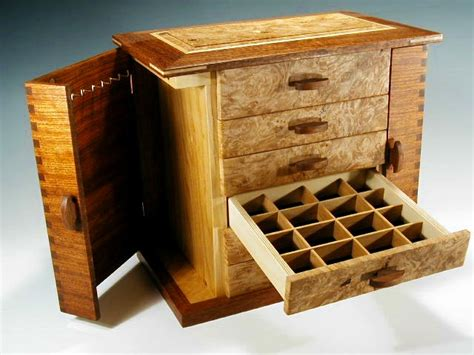 Wood Jewelry Boxes Handmade - handmade wooden jewelry box
