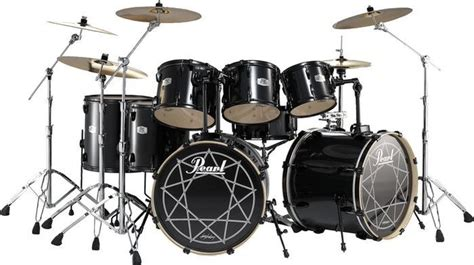 Set Drum Pearl Merah Asik joey jordison s rob tour kit page 3