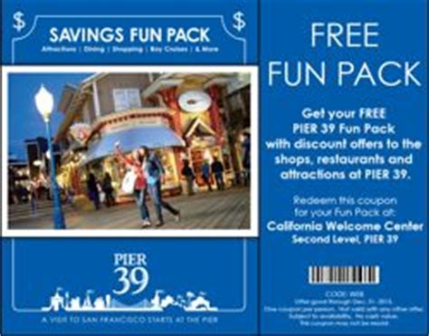 Pier 39 Parking Garage Coupon by Pier 39 San Francisco Tips From A Local