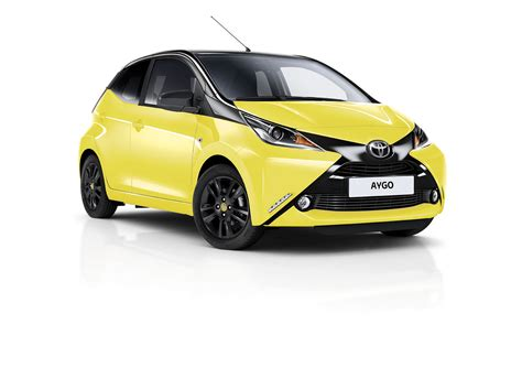 yellow toyota toyota aygo x cite yellow edition