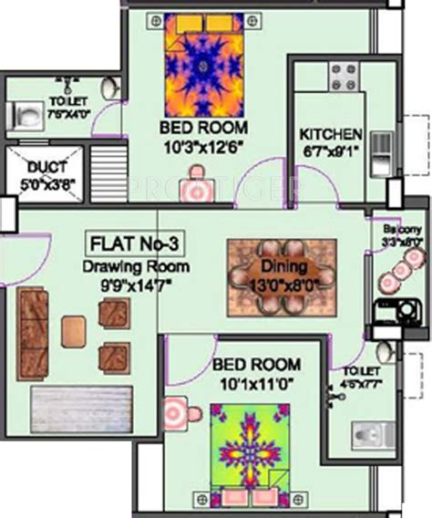950 sq ft 2 bhk 2t apartment for sale in modi properties 950 sq ft 2 bhk 2t apartment for sale in niagaree builders