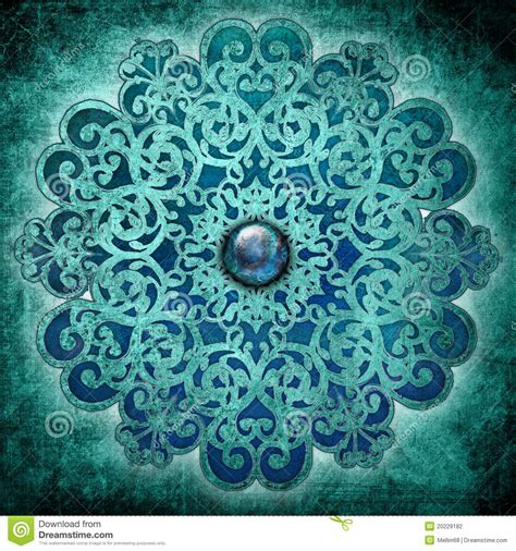 imagenes vintage años 20 peace mandala blue stock illustration image of mandala