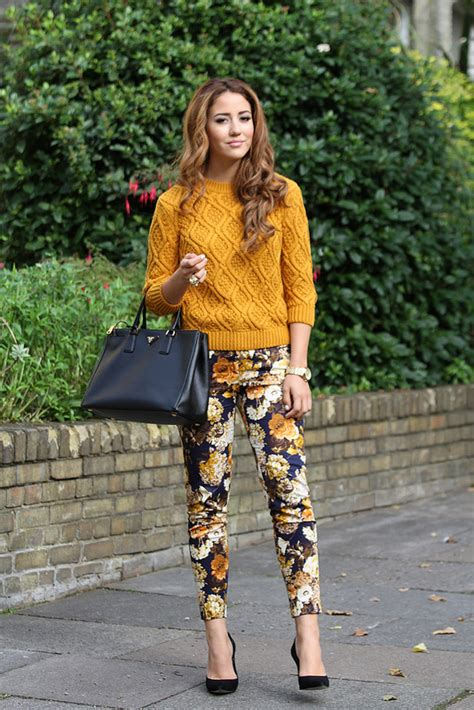 how to wear printed pantstrousers fall2013 pinterest 21 stylish fall street style outfit ideas style motivation