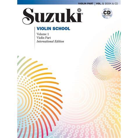 Suzuki Book 1 Violin by Suzuki Violin School Method Book And Cd Volume 1 Shar