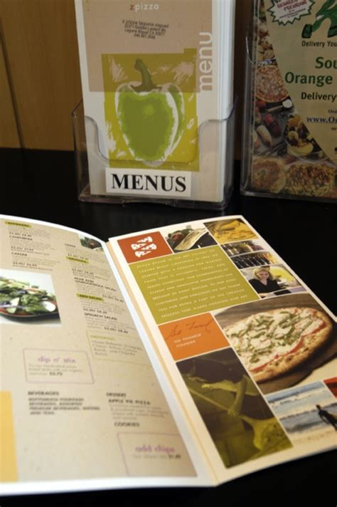 menu layout science the art science of menu design pizza today